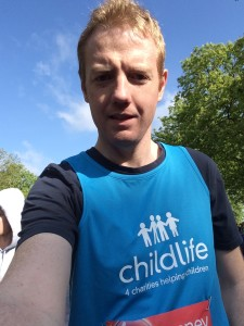 Daniel Johnson London Marathon 2016